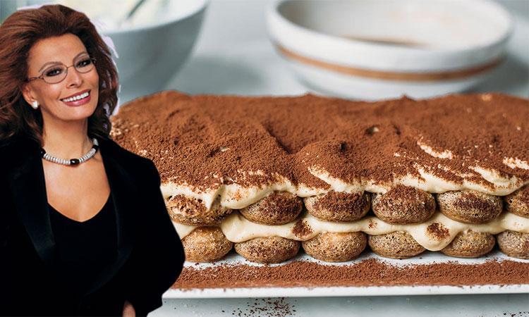 Rețete pentru desert ale vedetelor. Află ce au în comun Sophia Loren și Laura Coșoi?