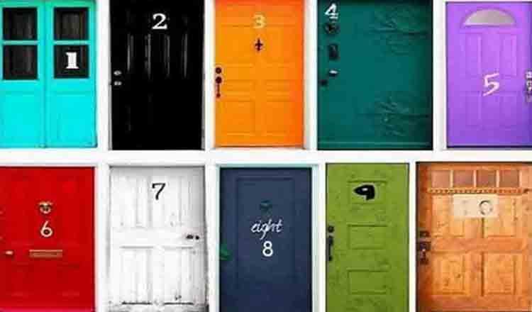 Alege ușa care-ți place… Un test care nu-ți ia mai mult de 2 minute și care dezvăluie ce fel de persoană ești!