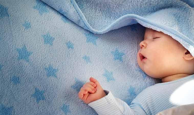 Calendarul cu orele pe care trebuie să le doarmă un copil.