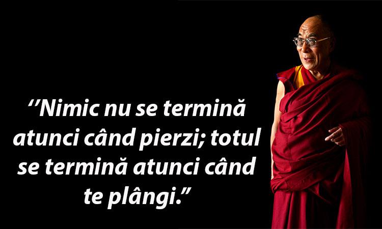 Cele 8 sfaturi ale lui Dalai Lama care te vor ajuta să depășești orice greutate.