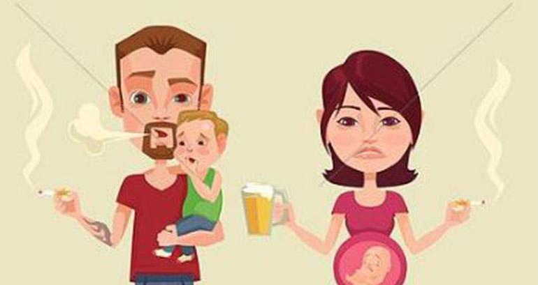 Efectele nocive ale viciilor părinților asupra copiilor!