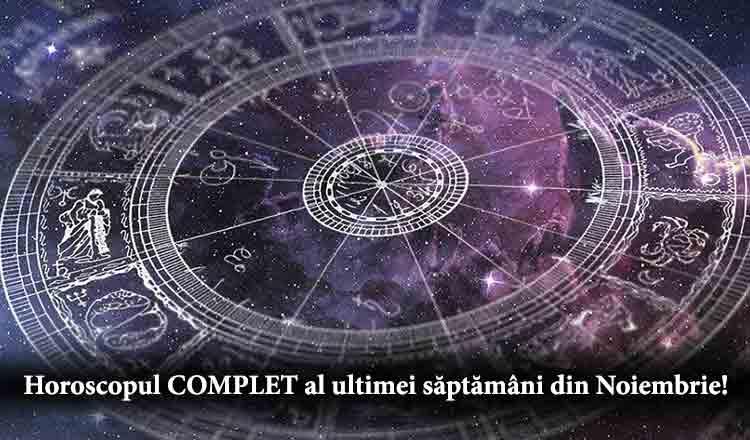 Horoscopul COMPLET al ultimei săptămâni a toamnei 2018…