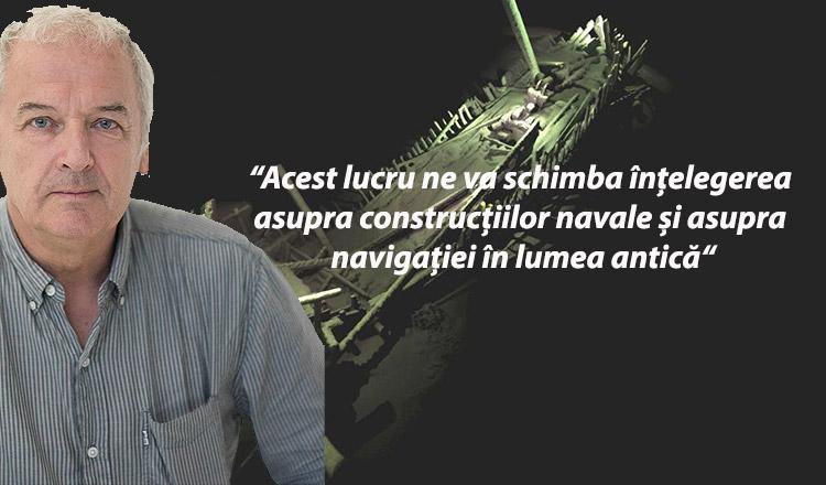 """Profesorul Jon Adams spune despre Marea Neagră: """"Este ceva ce n-aș fi crezut niciodată că este posibil"""""""