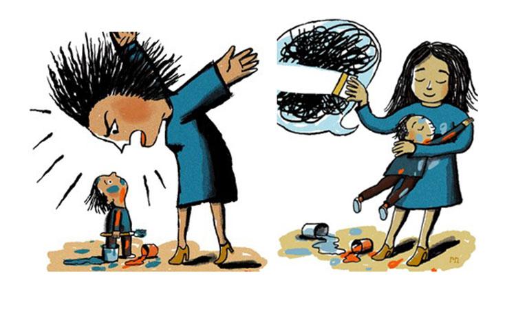 Reguli simple pentru a-ți educa copilul fără a țipa la el.