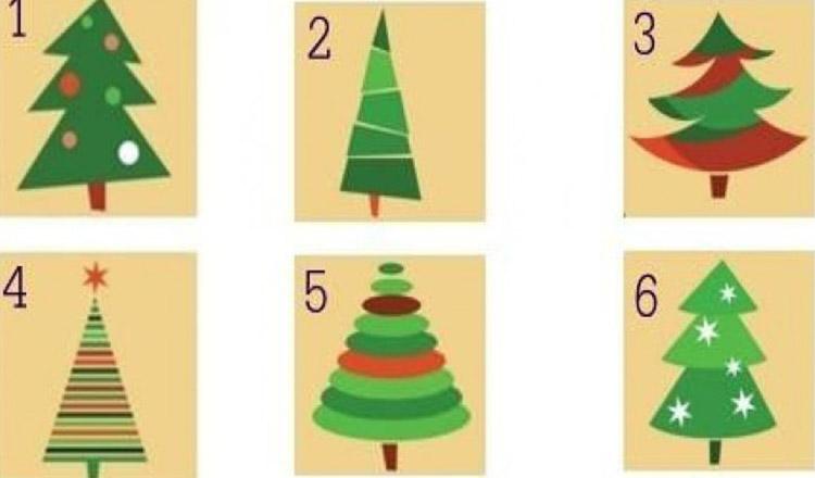 Alege un brad de Crăciun și află detaliile neștiute despre personalitatea ta!