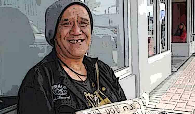 Motivul pentru care zâmbește un om sărac… Răspunsul este nemaipomenit!
