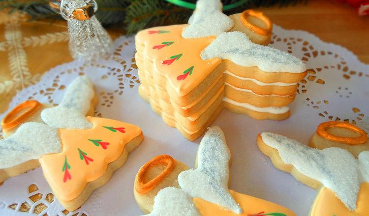 Cel mai bun desert pentru sărbători: Îngeri de Crăciun!