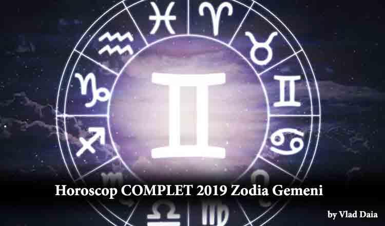 Horoscop COMPLET 2019 zodia Gemeni, prezentat de astrolog Vlad Daia!