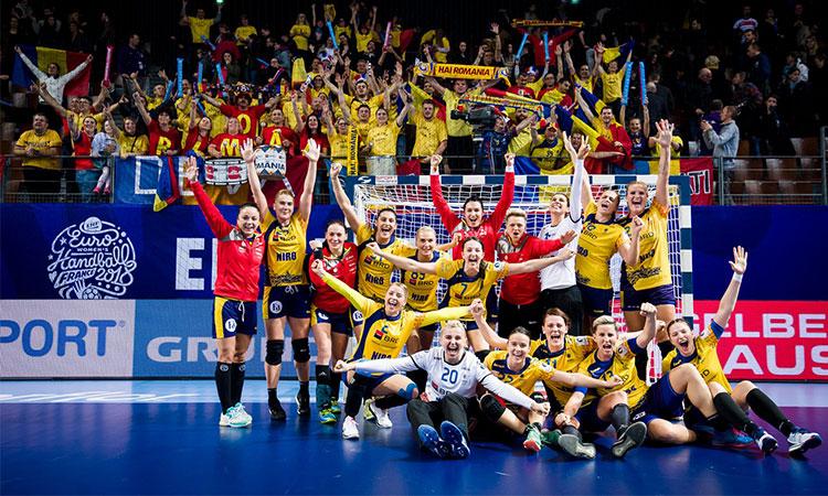 Naționala feminină de handbal s-a calificat în semifinalele Campionatului European