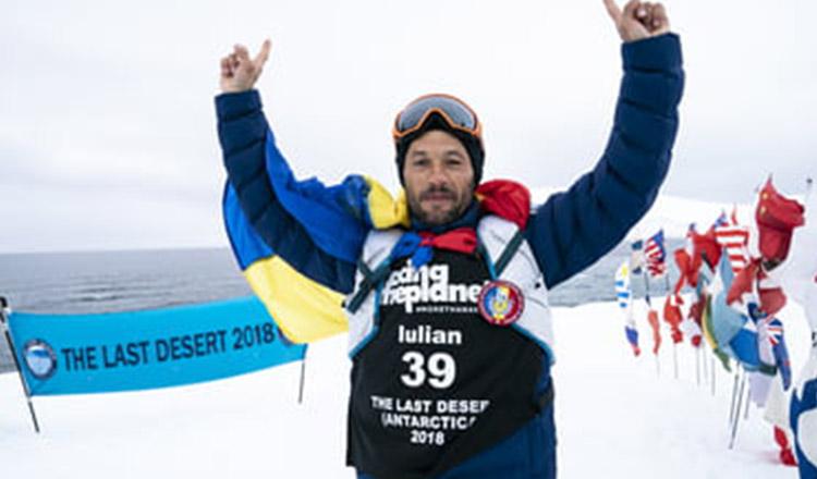 Mândria de a fi român! Povestea românului care a alergat 250 km la Polul Sud, la -60 de grade Celsius, pentru o cauză nobilă!