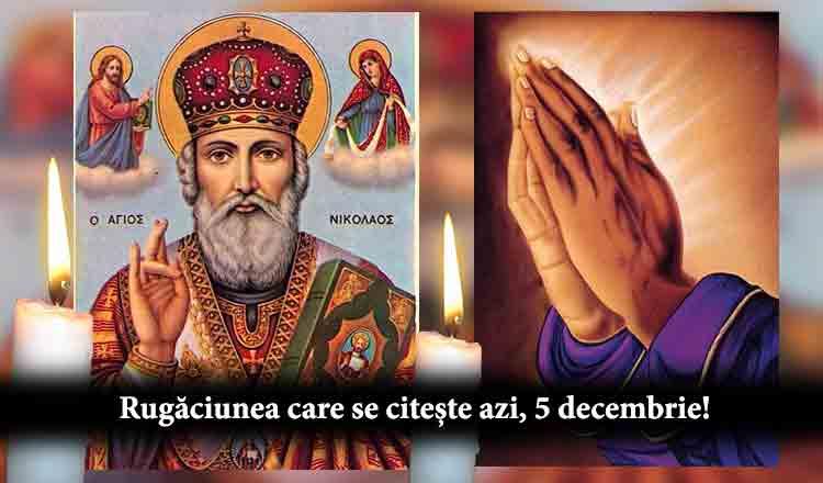 Rostește azi Rugăciunea Sfântului Nicolae pentru împlinirea tuturor dorințelor!