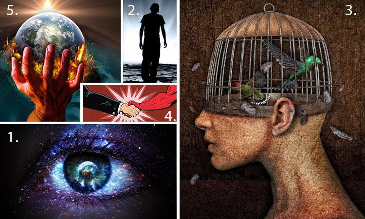 Cele 5 Tipuri de oameni: căutătorul de adevăr, cel spălat pe creier, cel ghidat greșit, cel înfometat de putere și cel care și-a vândut sufletul!