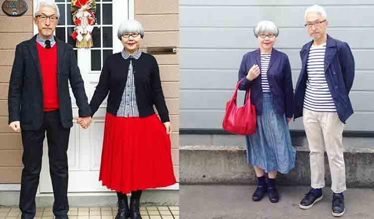 Căsătoriți de 37 de ani, nu a fost zi în care să nu se asorteze la hainele pe care le îmbracă!