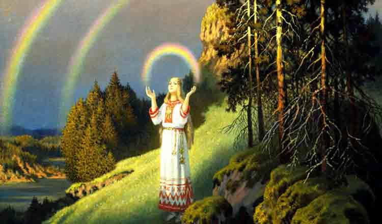 Se spune că în spatele oricărui curcubeu este zâmbetul lui Dumnezeu…