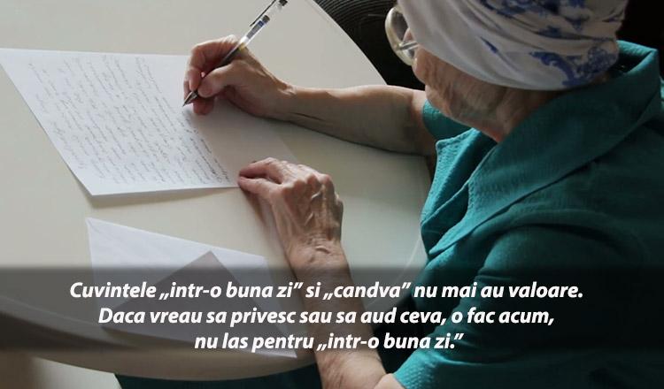 Scrisoarea unei femei de 83 de ani, impresionează prin realitatea ei! Citește-o și tu!