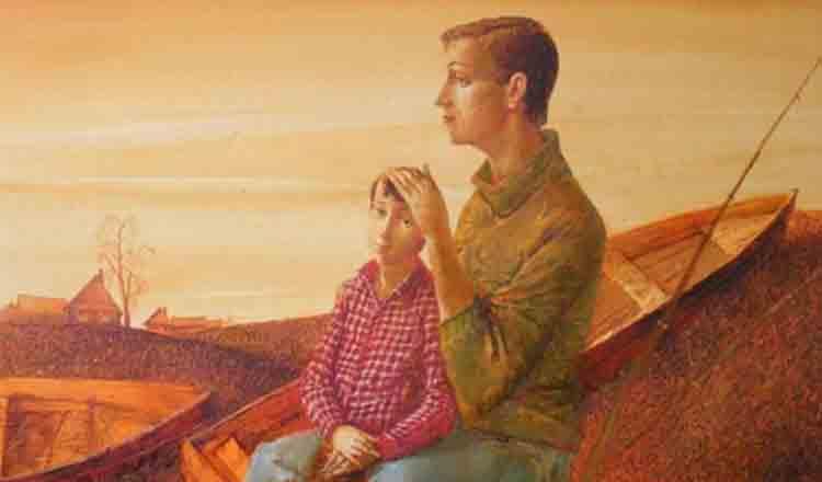 Un balsam pentru suflet, o poveste minunată… Cine cumpără tabloul fiului?