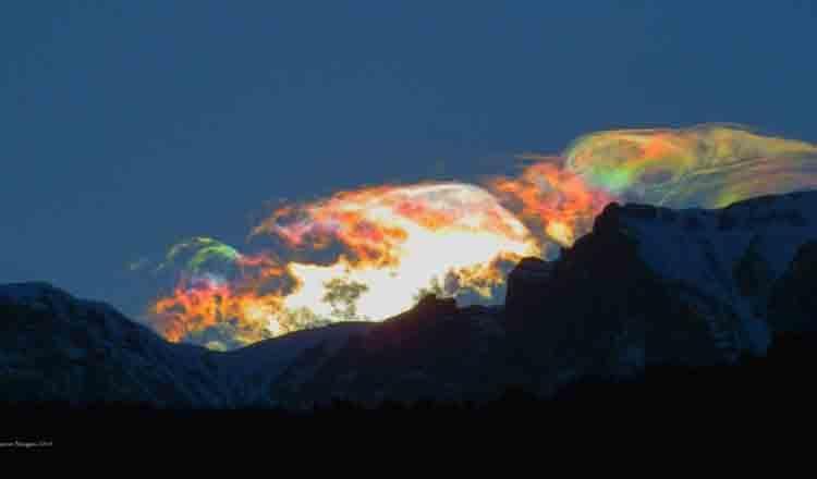 Fenomen asemănător Aurorei Boreale, apărut în Munții Bucegi