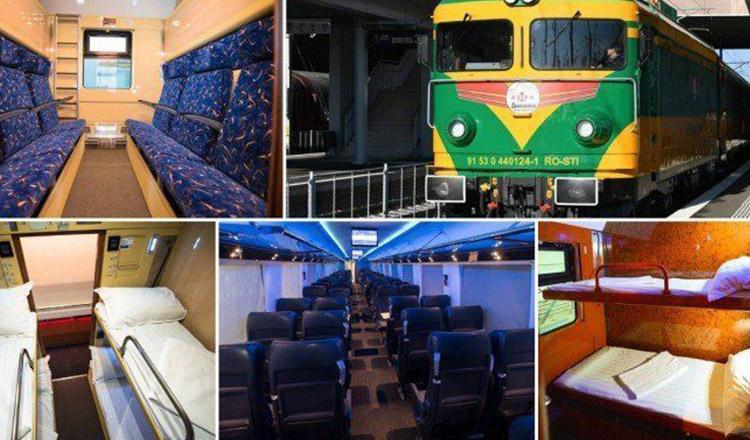 Există un tren privat, care străbate România și care este tare îndrăgit de călători!