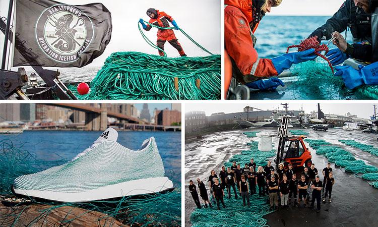 Adidas a vândut 1 000 000 de perechi de adidași ecologici, fabricați din deșeuri plastice, găsite în oceane