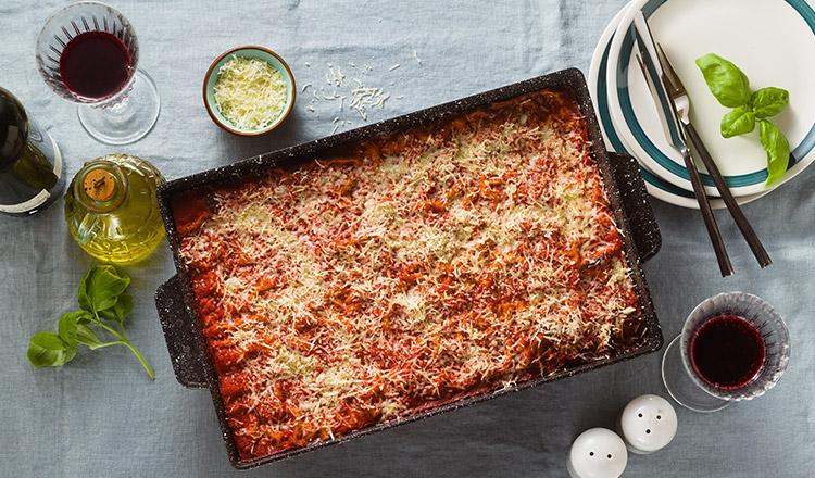 Cum să faci lasagna de post. Este simplu și ușor de preparat
