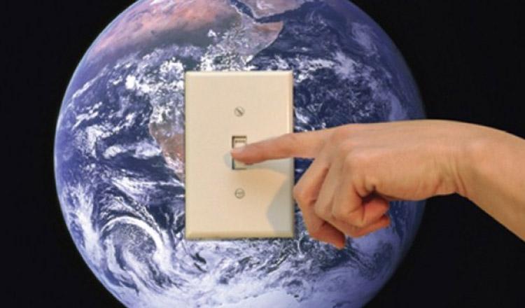 Pe 30 martie, stingem din nou lumina de Ora Pământului