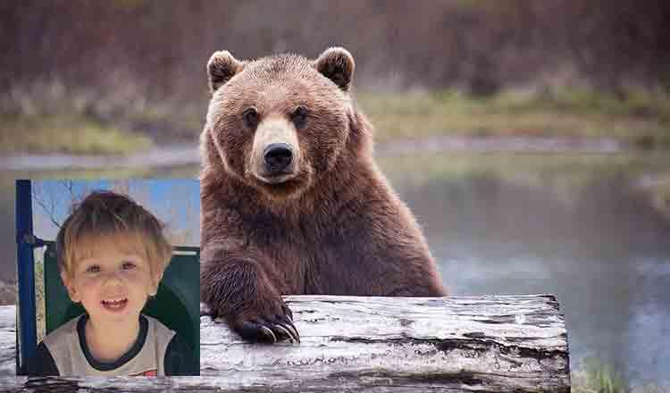 Un băiețel, în vârstă de trei ani, care a supraviețuit două nopți în frig și ploaie în pădure,  a povestit că un urs a avut grijă de el