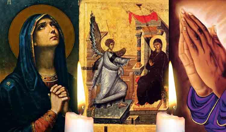 Rostește azi, 25 martie, Rugăciunea închinată Fecioarei Maria pentru mântuire și purificare sufletească