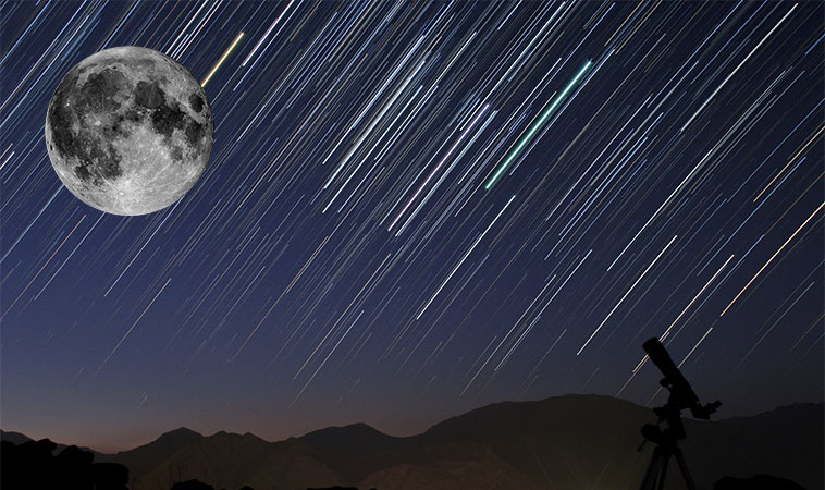 A venit momentul stelelor căzătoare, fii cu ochii pe cer!