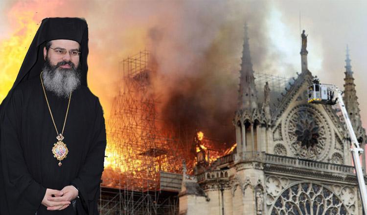 """PS Ignatie: """"Orice națiune are un simbol. Când arde simbolul, totul se ruinează"""""""