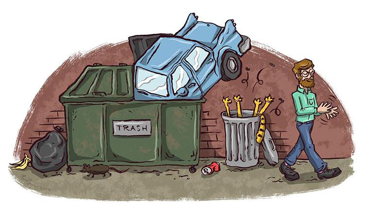 Ce nu ai voie să arunci la gunoi