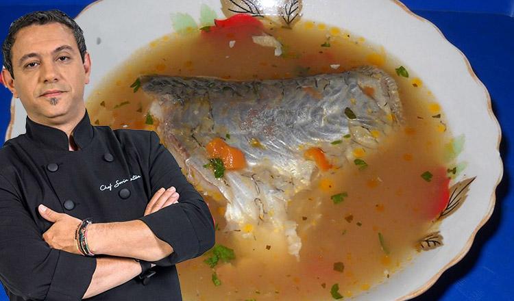 Ciorbă de pește a la chef Sorin Bontea. Vei mai cere o porție