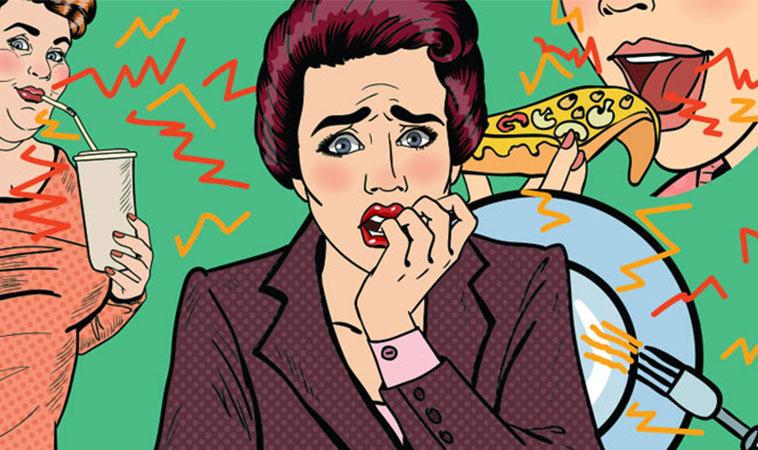 Dacă te enervezi din cauza zgomotelor, precum mestecatul, este posibil să ai probleme psihice