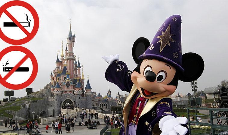 Începând cu luna mai, fumatul va fi complet interzis în interiorul parcurilor tematice Walt Disney