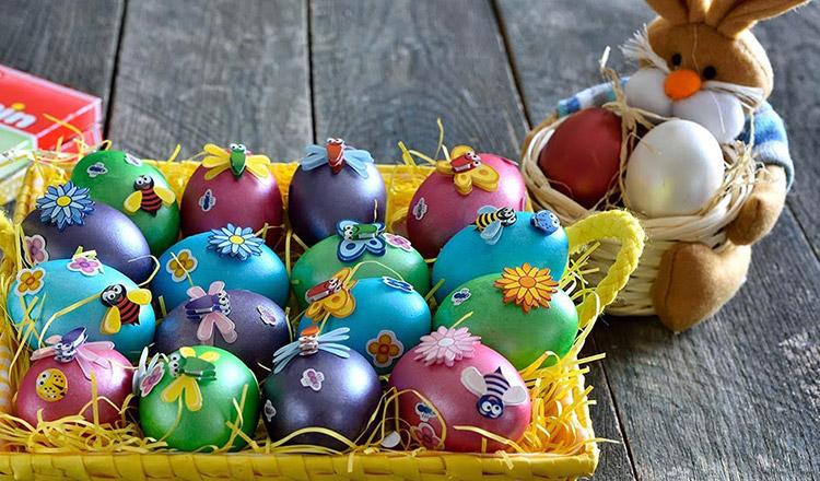 Trucuri pentru a face ouă de Paște spectaculoase