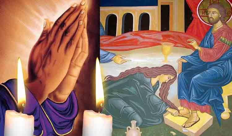 Citește azi, în Miercurea Mare, rugăciunea care te scapă de păcate