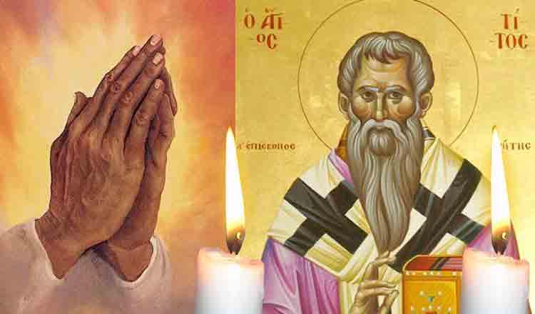 Azi, 2 aprilie, rugați-vă Sfântului Tit pentru a scăpa de patimi