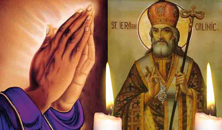 Citește azi, 11 Aprilie, Rugăciunea Sfântului Calinic pentru fericire și bunăstare