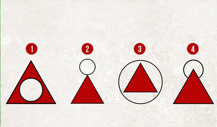 Modul în care trasezi cercul, spune multe despre personalitatea ta
