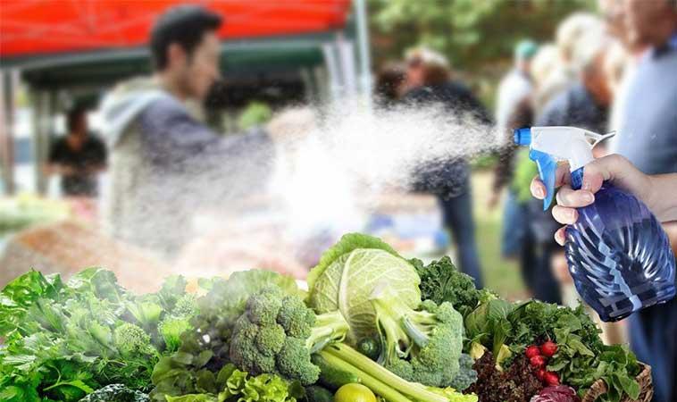 De ce magazinele pulverizează apă pe fructe și legume