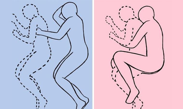 Îmbrățișarea, pe timpul nopții, poate face minuni pentru relația voastră