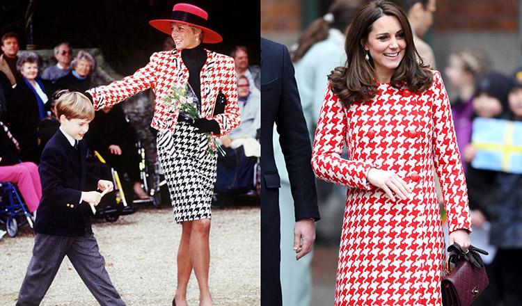 12 vestimentații ale lui Kate Middleton, care amintesc foarte mult de imaginea Prințesei Diana