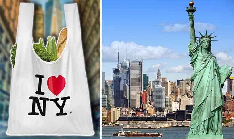 New York-ul este cel de-al doilea stat, după California, care interzice pungile din plastic