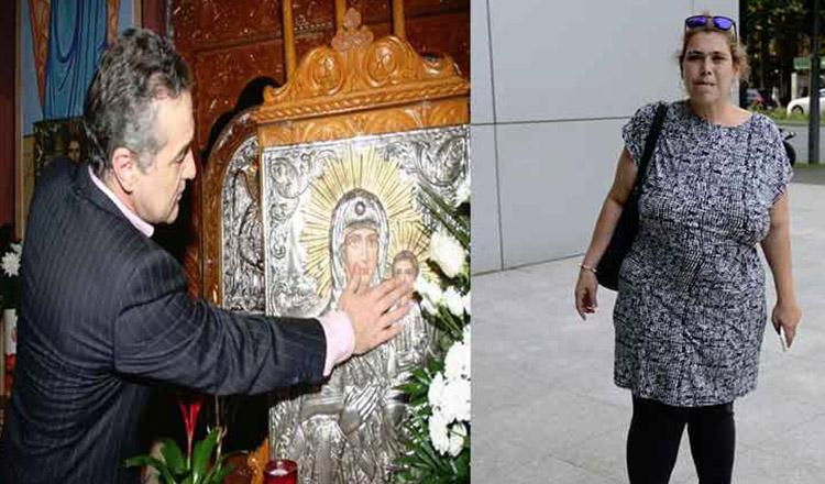 Ioana Tufaru l-a implorat pe Gigi Becali, la biserică, să o mute din garsoniera din Berceni! Unde locuieşte acum cu familia ei
