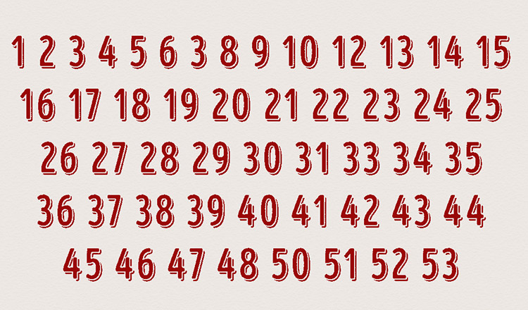 Poți să găsești numărul lipsă? Unii oameni au nevoie de mai mult de 20 de secunde pentru a-l vedea