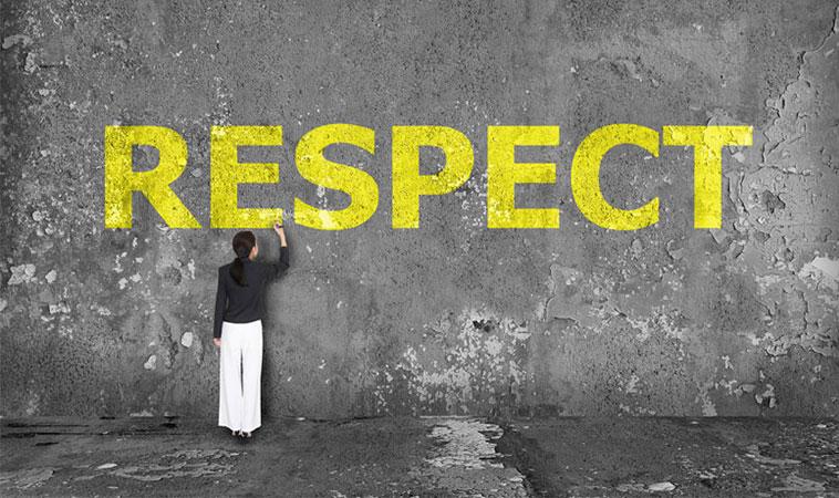 O femeie puternică nu va tolera niciodată lipsa de respect