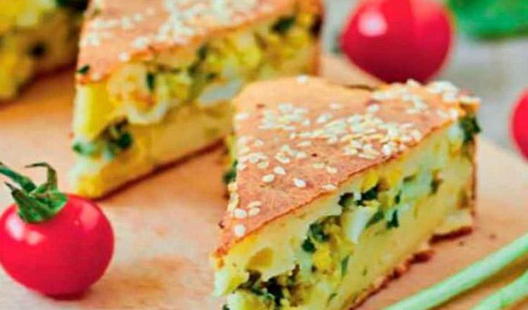 Plăcintă cu brânză și ouă, o rețetă perfectă, atunci când nu știi ce să mai gătești