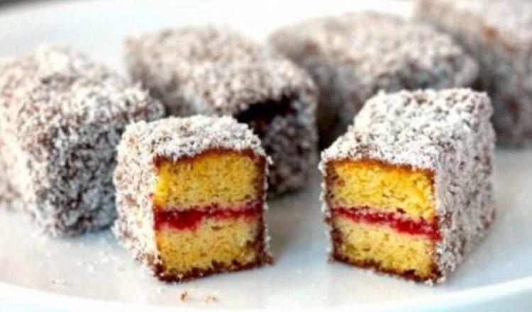 Desert foarte ușor de făcut, prăjitura Lamington