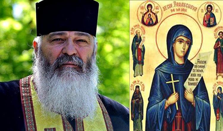 """Părintele Calistrat """"Cum ne poate ajuta o întâlnire spirituală de suflet cu Sfânta Cuvioasă Parascheva?"""""""